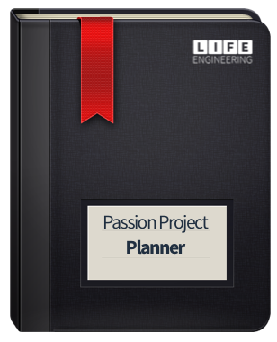 Passion Project Planner for Sons of Helaman and Men of Moroni addiction recovery services